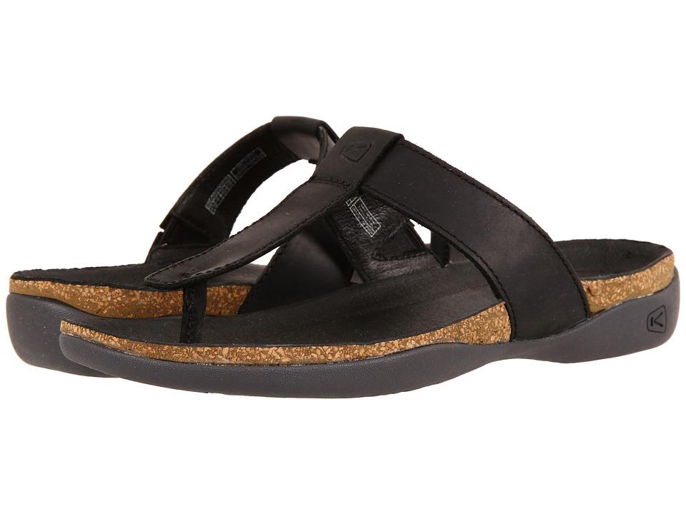 Keen - Dauntless Flip (Black) Women's Shoes