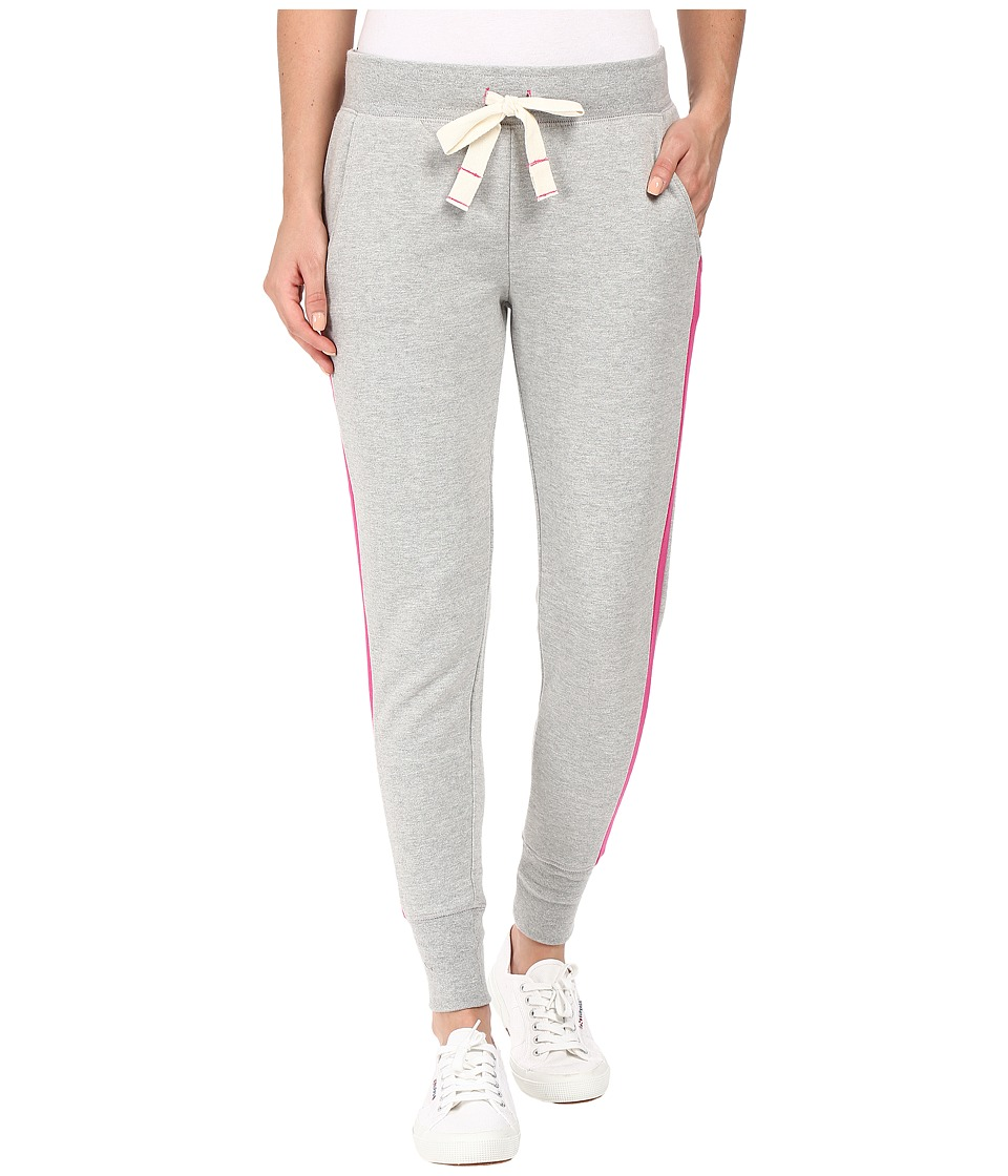 U.S. POLO ASSN. - Contrast Jogger Pants (Medium Heather Grey Combo) Women's Casual Pants