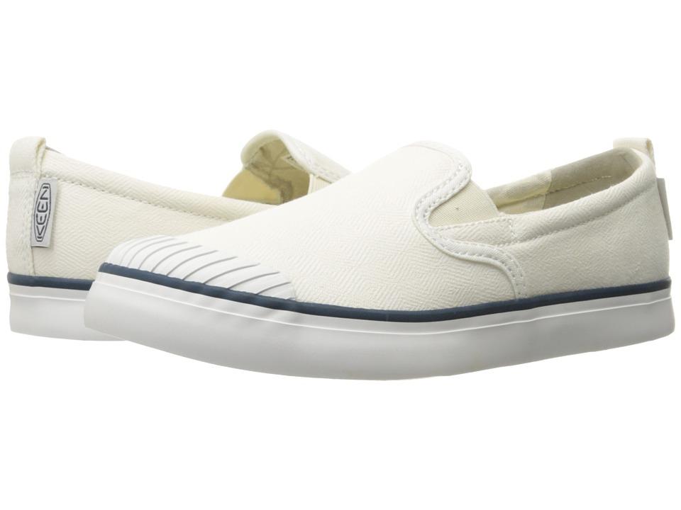 Keen - Elsa Slip-On (Star White) Women's Slip on Shoes