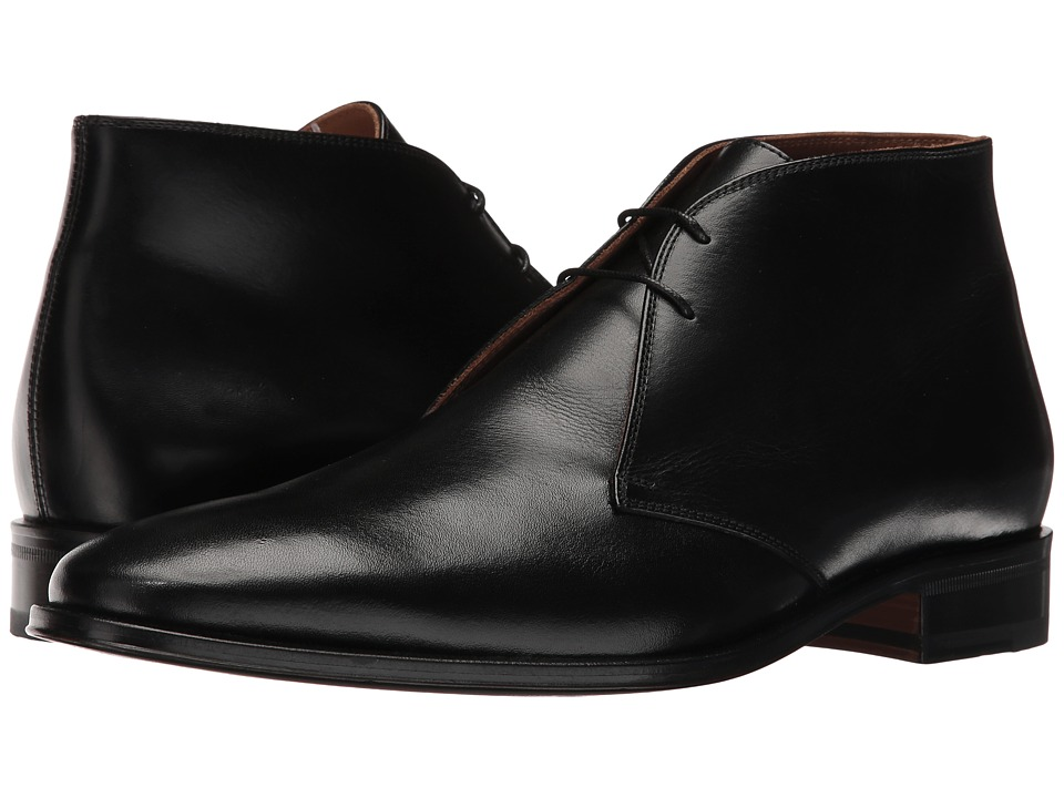 Bruno Magli Weston (Black Burnished Calf) Men