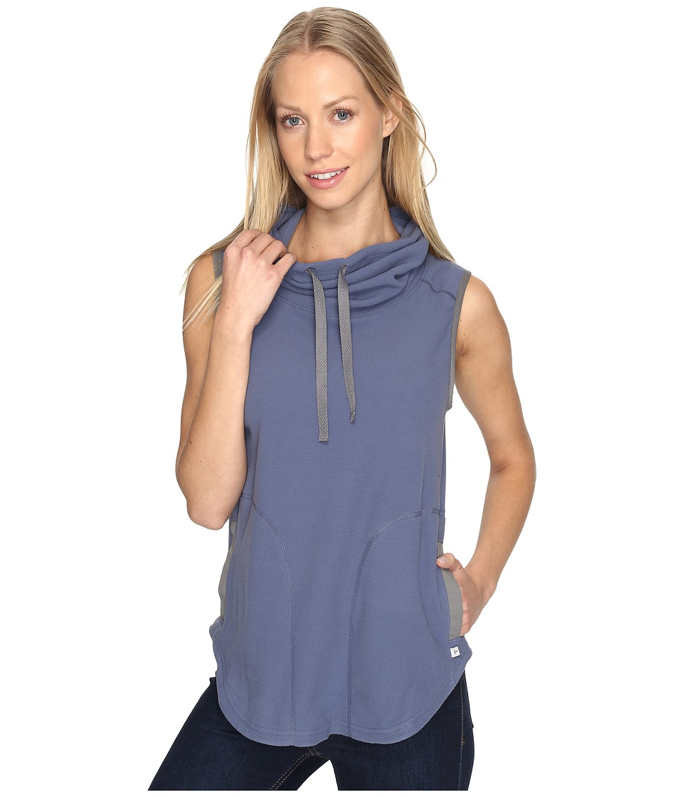 Toad&Co - Sundowner Fleece Vest (Indigo) Women's Vest