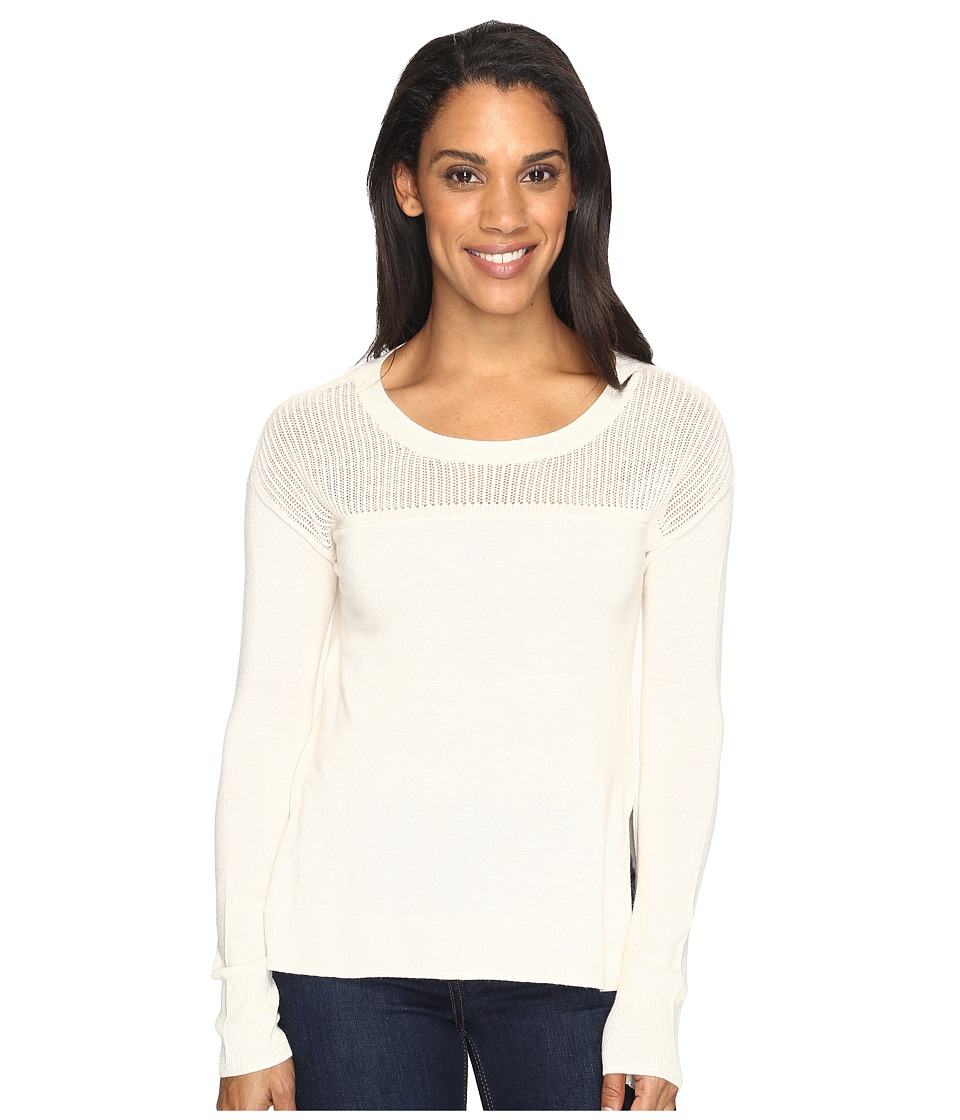 Toad&Co - Jacinta Crew Sweater (Salt) Women's Sweater