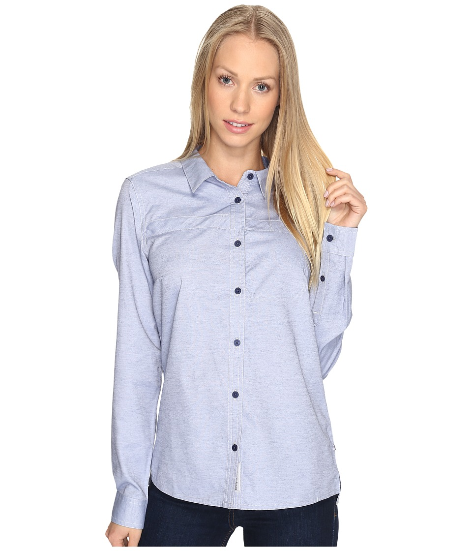 Toad&Co - Viewfinder Long Sleeve Shirt (Indigo) Women's Clothing
