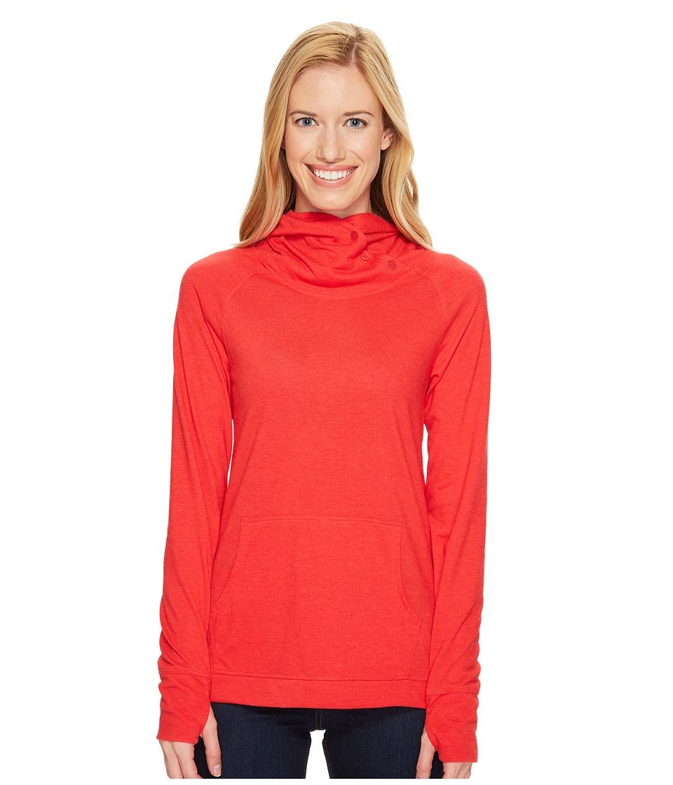 Toad&Co - Debug Sport Hoodie (Parakeet Red) Women's Sweatshirt