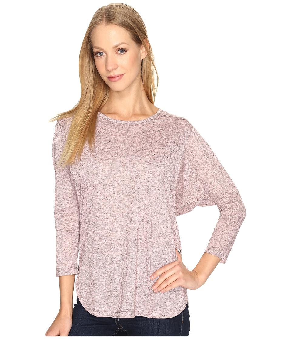 Toad&Co - Ember 3/4 Sleeve Tee (Sangria) Women's T Shirt