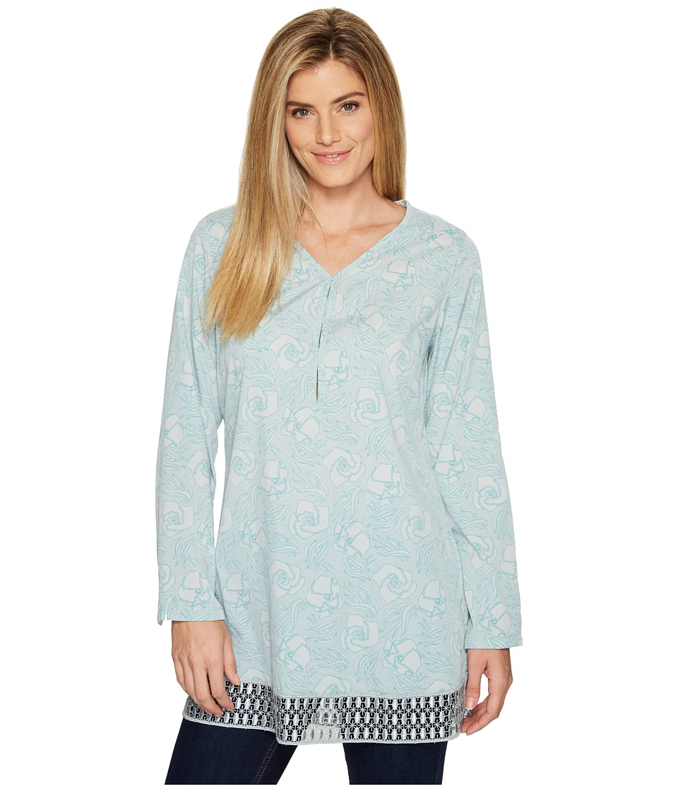 Toad&Co - Sunlight Tunic (Chrome Floral Print) Women's Blouse
