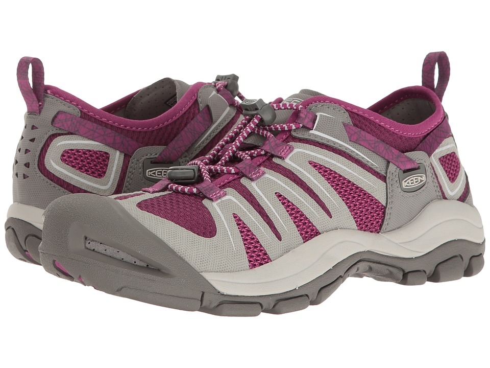 Keen McKenzie II (Neutral Gray/Dark Purple) Women