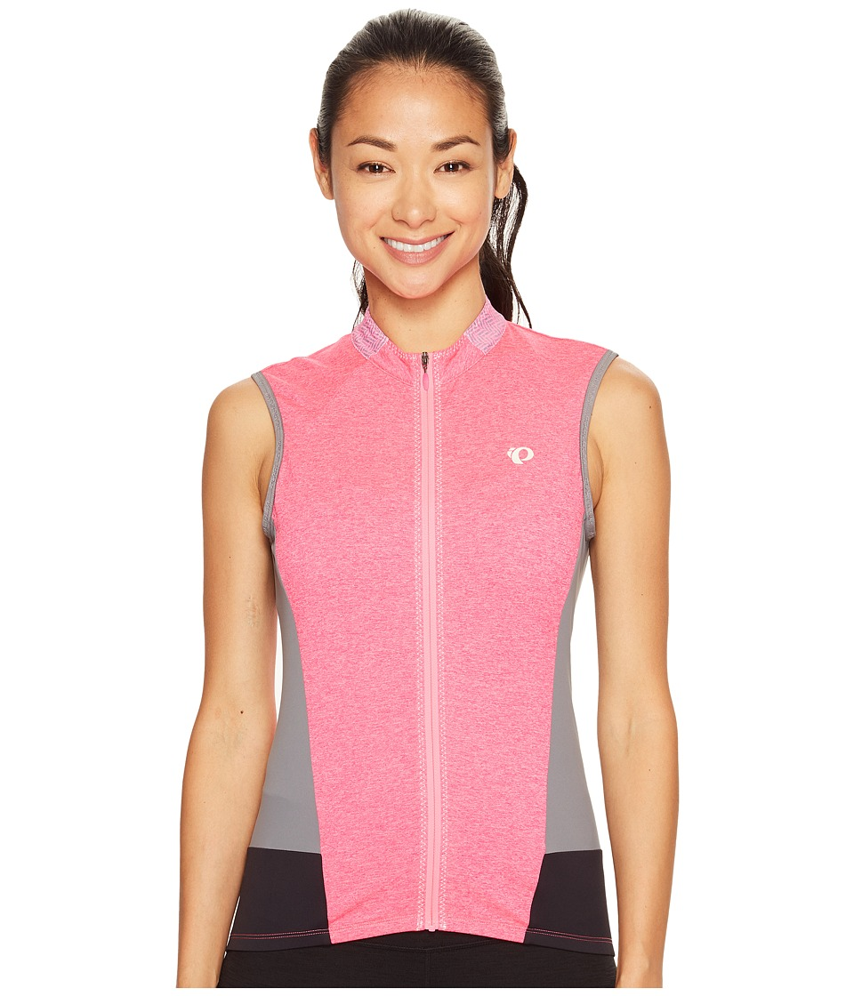 Pearl Izumi - Select Escape Sleeveless Jersey (Screaming Pink Parquet) Women's Sleeveless