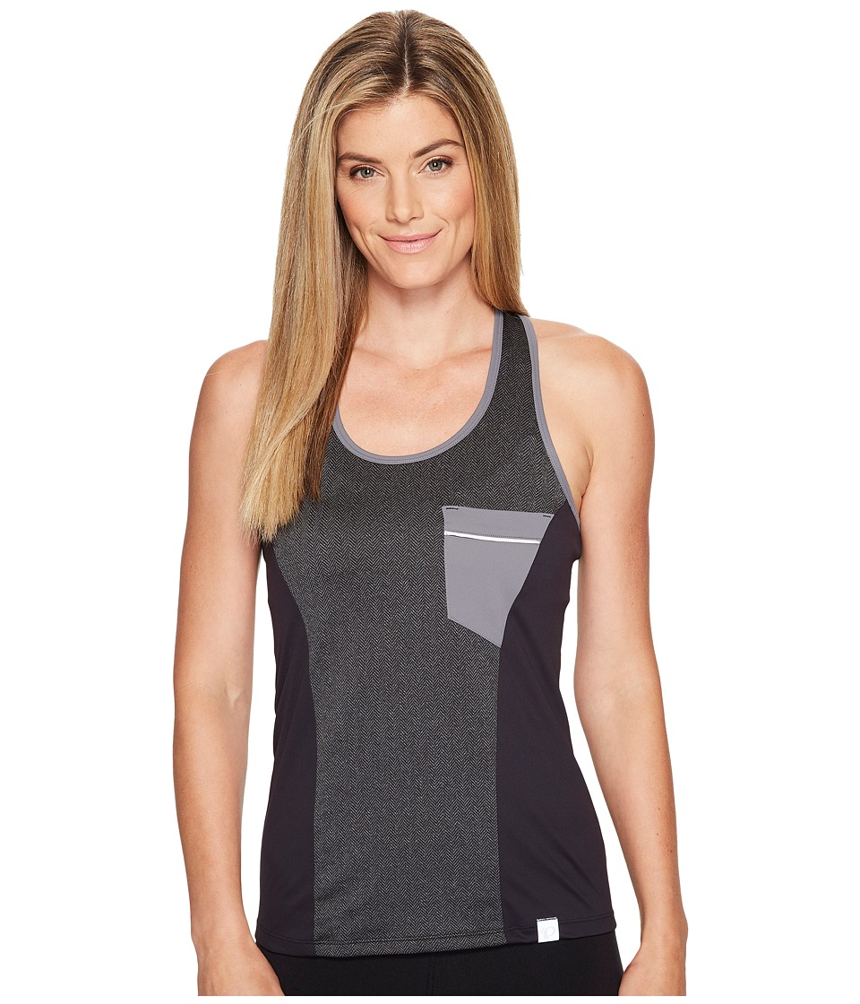 Pearl Izumi - Select Escape Tank Top (Black Herringbone) Women's Sleeveless