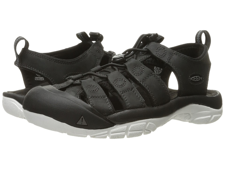 Keen - Newport Evo (Black/Star White) Women's Shoes
