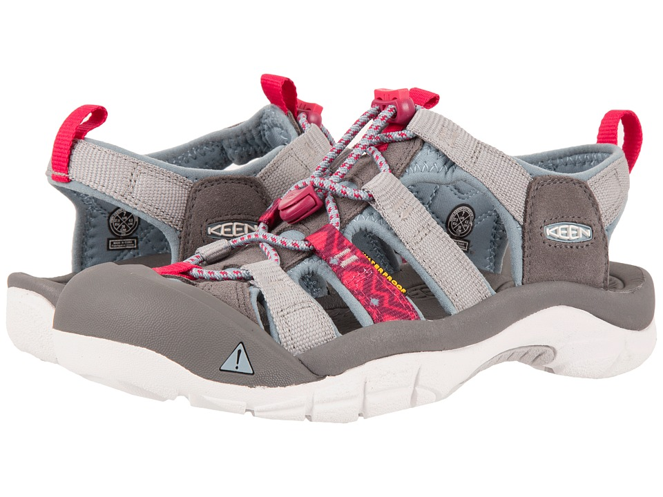 Keen - Newport Evo H2 (Neutral Gray/Raspberry) Women's Shoes