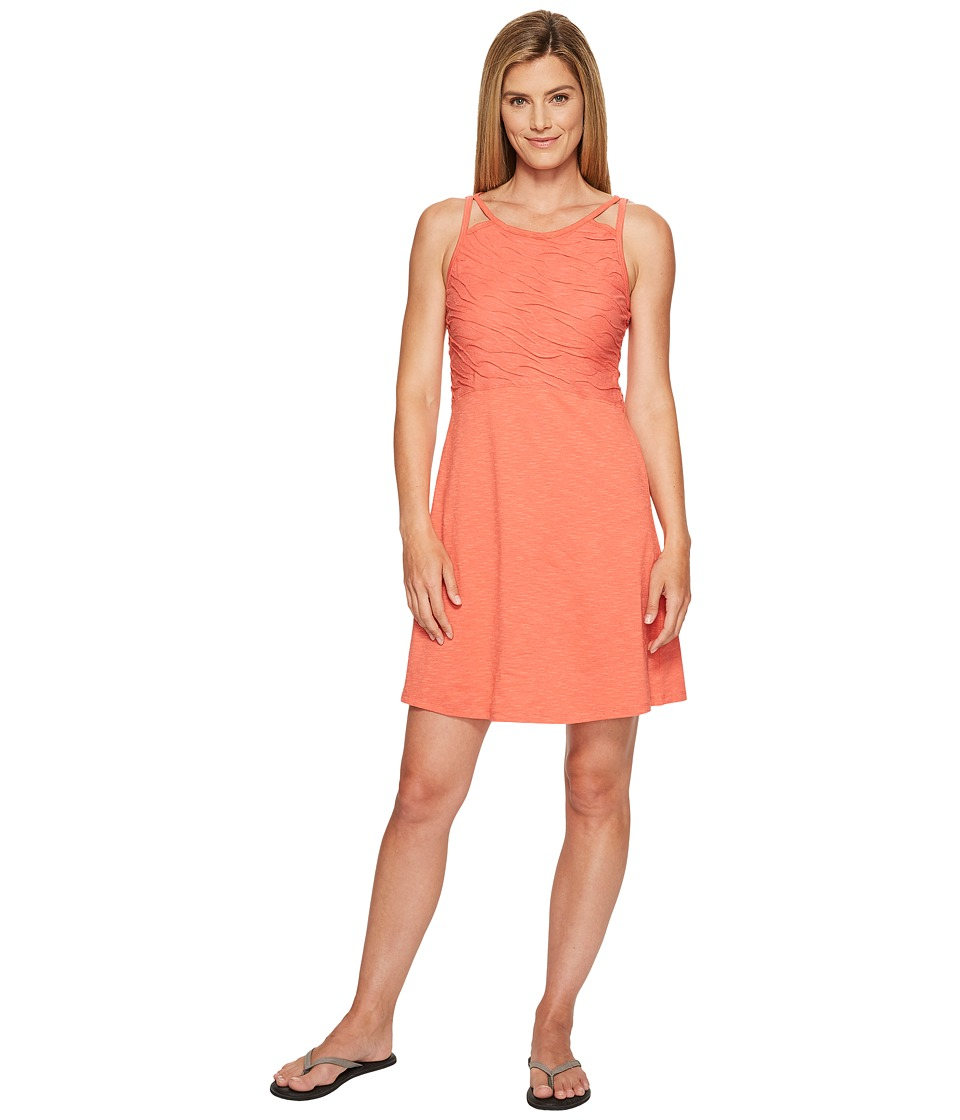 Toad&Co Sambasol Dress (Spiced Coral) Women