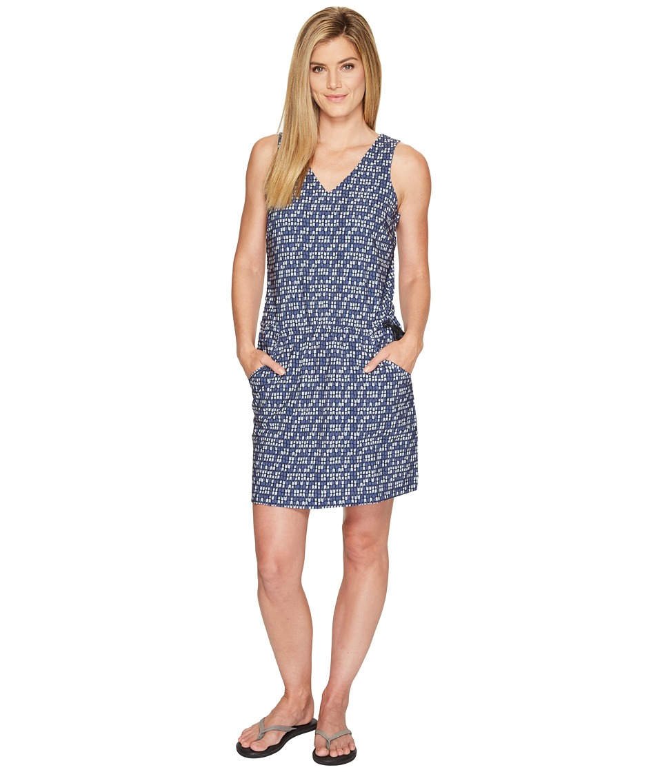 Toad&Co - Liv Dress (Deep Navy Flag Print) Women's Dress