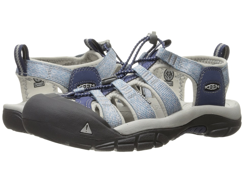 Keen - Newport H2 (Crown Blue/Vapor) Women's Shoes
