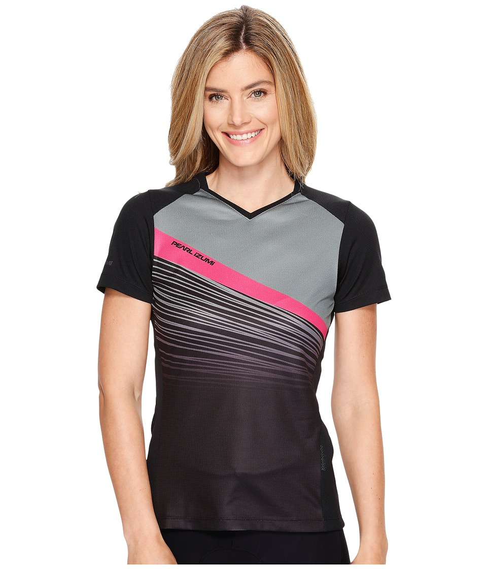 Pearl Izumi Launch Jersey (Black/Smoked Pearl Fracture) Women