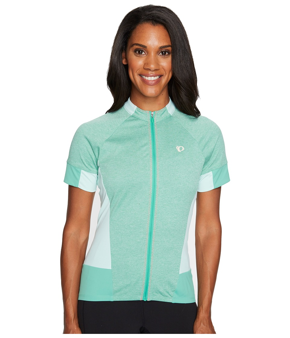 Pearl Izumi - Select Escape Short Sleeve Jersey (Green Spruce) Women's Clothing
