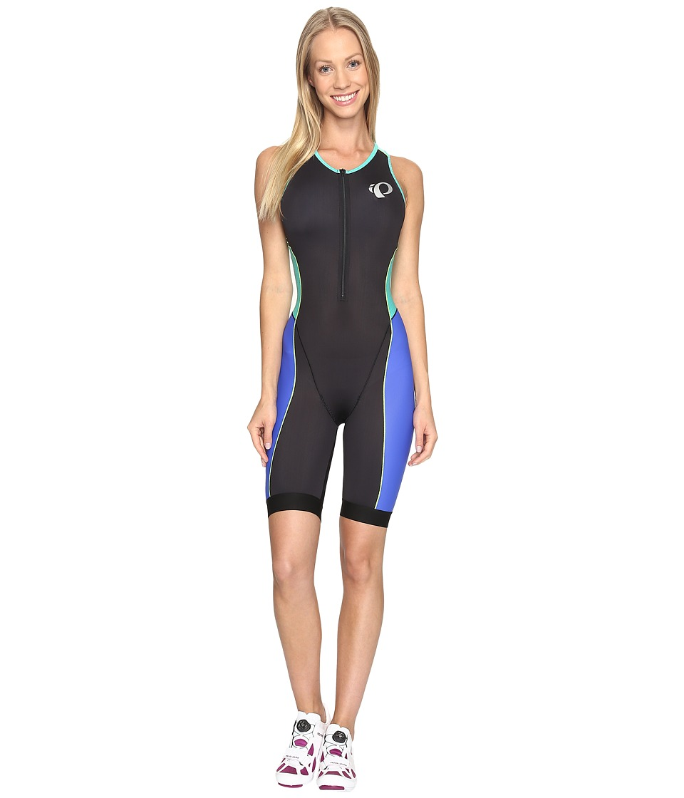 Pearl Izumi - Elite Pursuit Tri Suit (Dazzling Blue/Atlantis) Women's Cycling Bibs One Piece