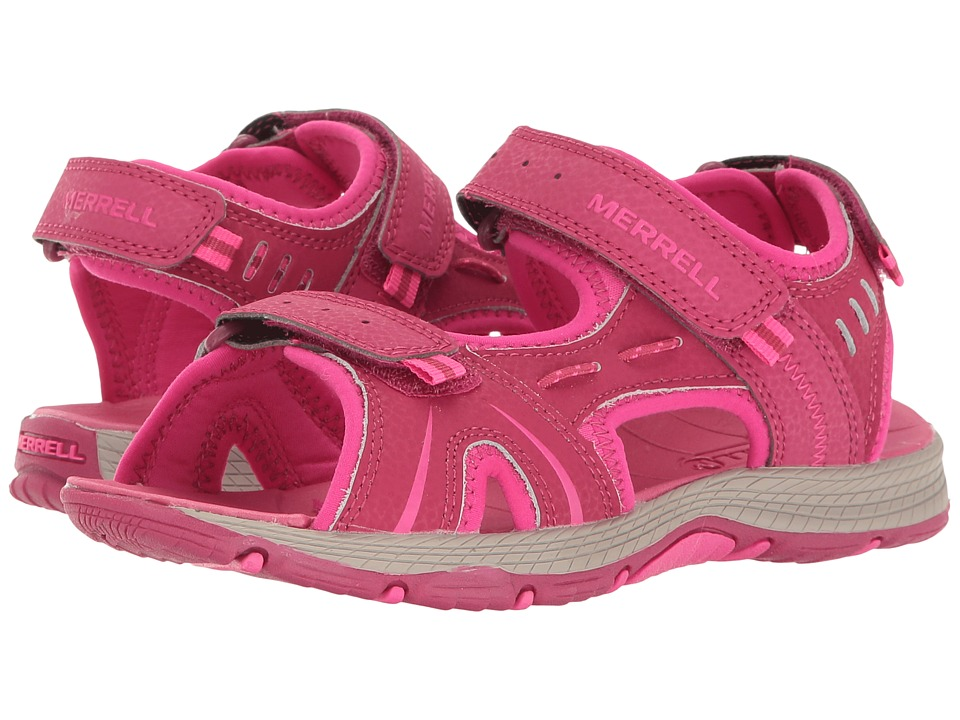 Merrell Kids - Panther (Big Kid) (Berry) Girls Shoes