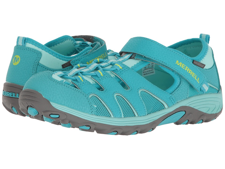 Merrell Kids Hydro H2O Hiker Sandal (Toddler/Little Kid/Big Kid) (Turquoise) Girls Shoes