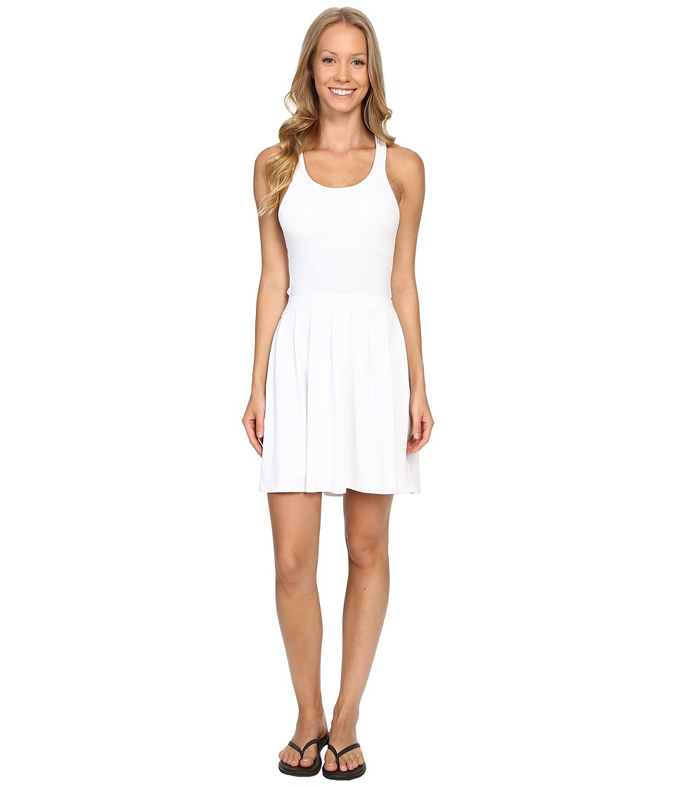 Tonic - Point Dress (White) Women's Dress