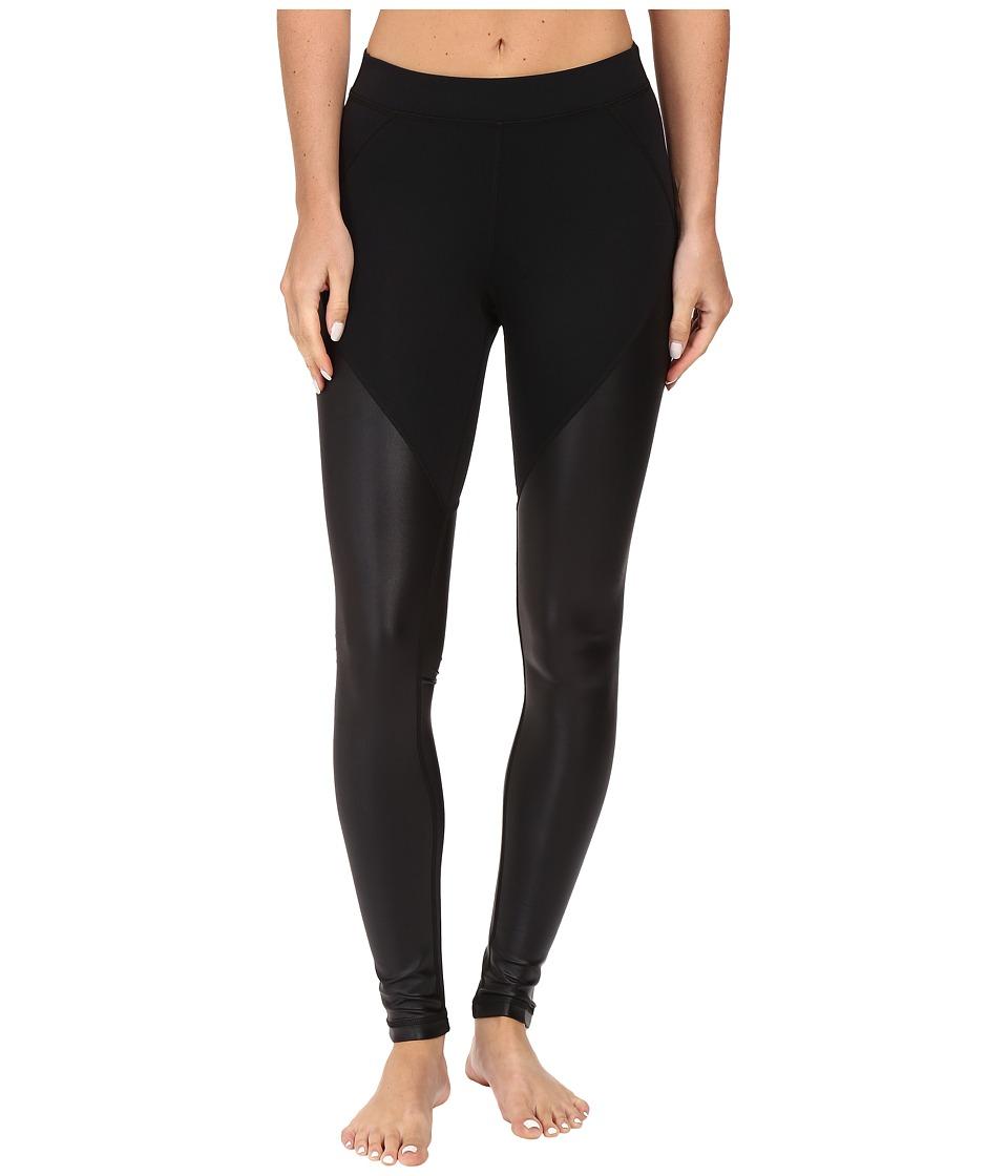 Tonic Crystalline Leggings (Black/Black Cire) Women