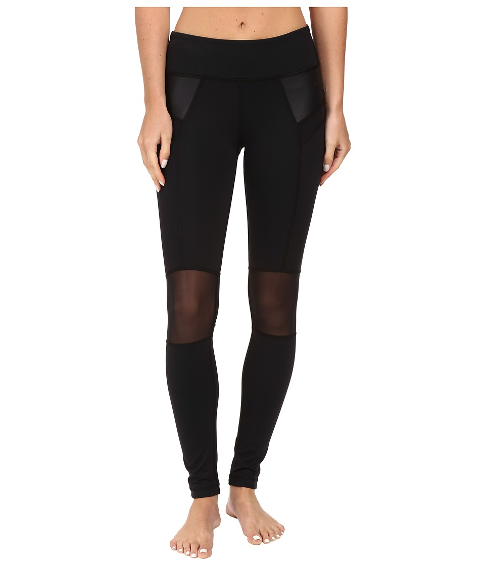 Tonic - Flame Leggings (Black/Black Cire) Women's Workout