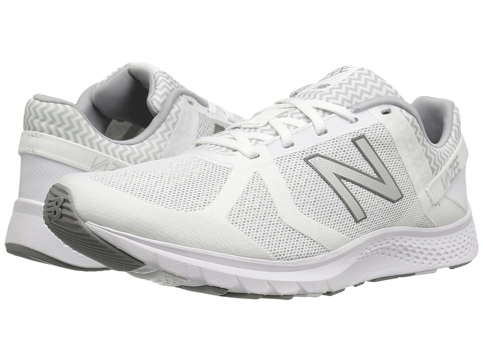 New Balance - WX77v1 (White/Grey Graphic) Women's Shoes
