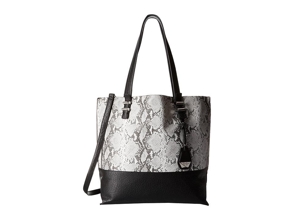 Jessica Simpson - Hanne Tote (White/Black Python) Tote Handbags