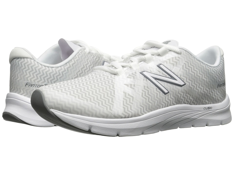 New Balance - WX811v2 (White/Zigzag Artic Graphic) Women's Cross Training Shoes