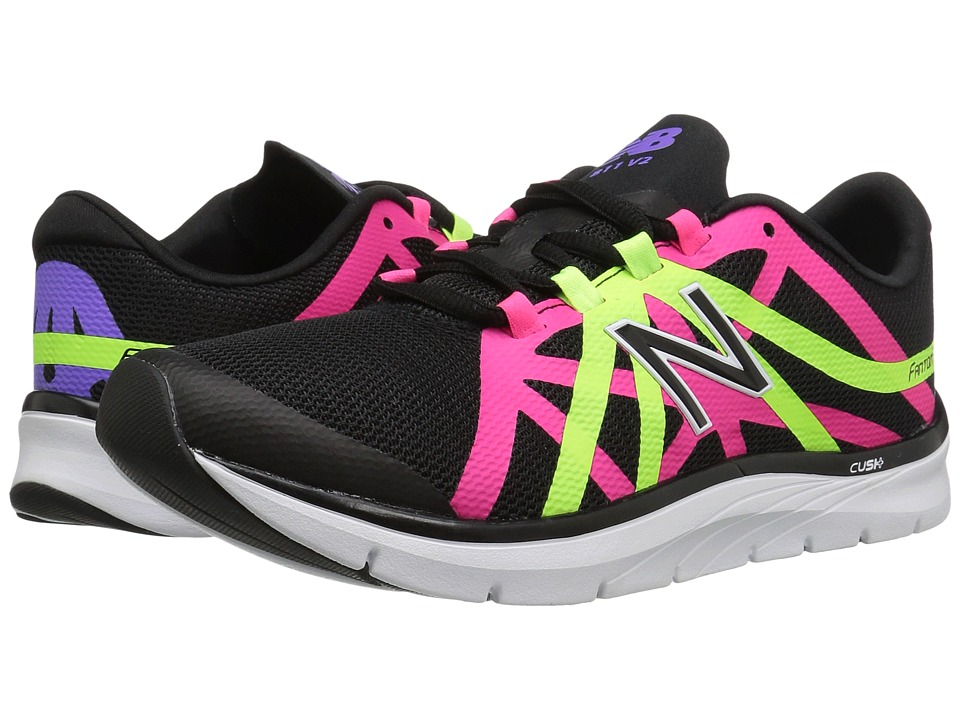 New Balance - WX811v2 (Black/Alpha Pink) Women's Cross Training Shoes