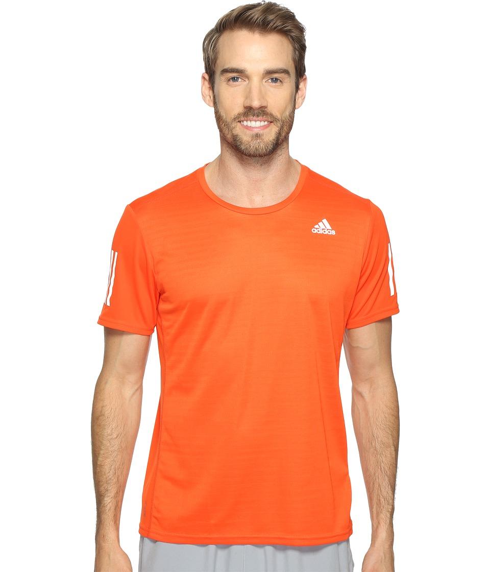 adidas - Response Short Sleeve Tee (Energy S17) Men's T Shirt