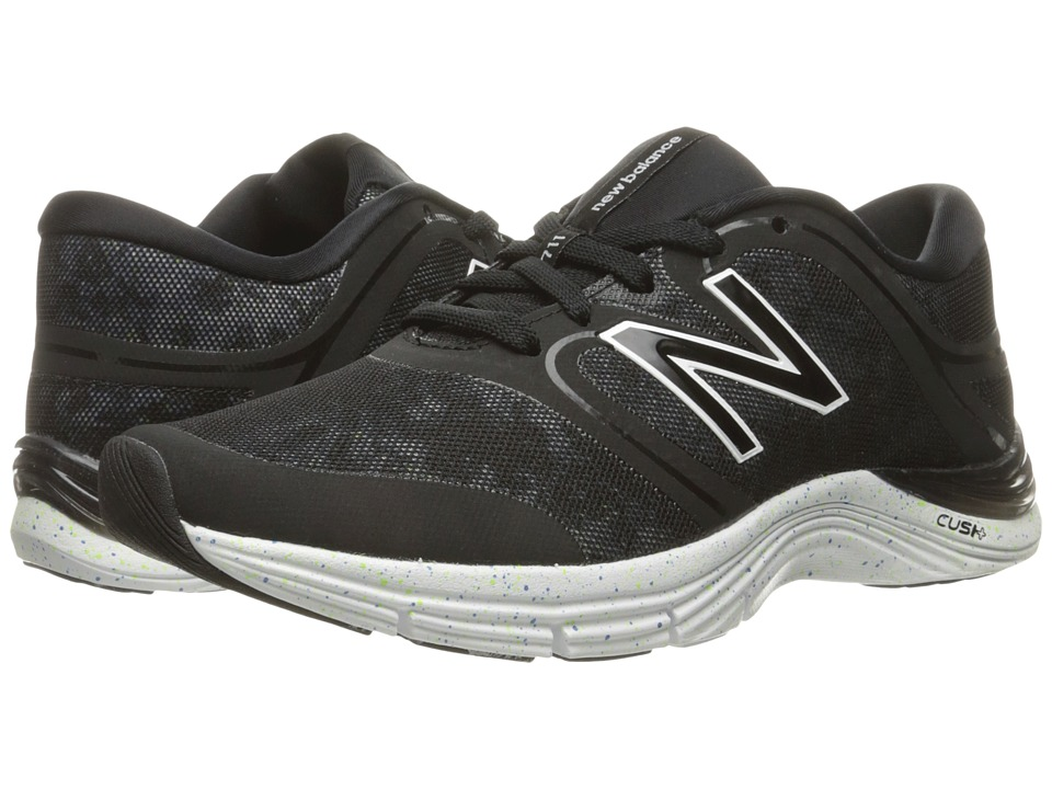 New Balance - WX711v2 (Black/Tie-Dye Speckle Graphic) Women's Cross Training Shoes