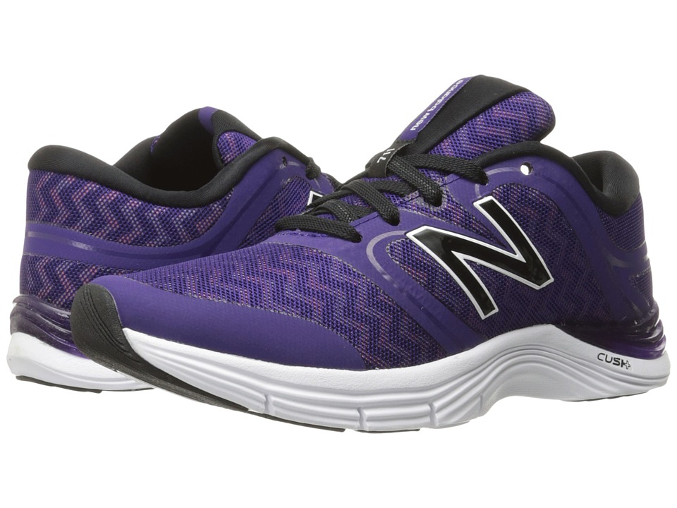 New Balance - WX711v2 (Black Plum/Zigzag Violet Glo Graphic) Women's Cross Training Shoes