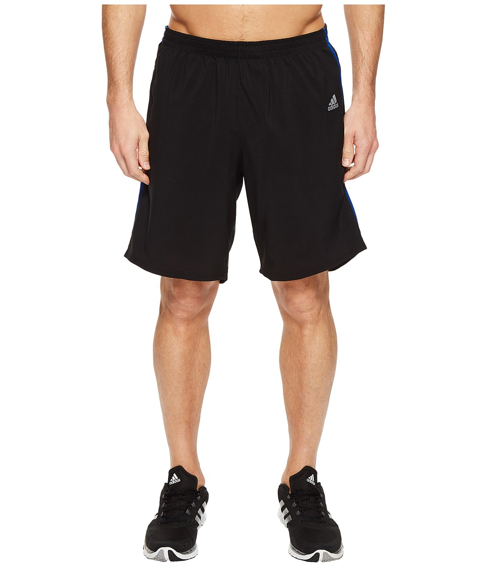 adidas - Response 9 Shorts (Black/Collegiate Royal) Men's Shorts