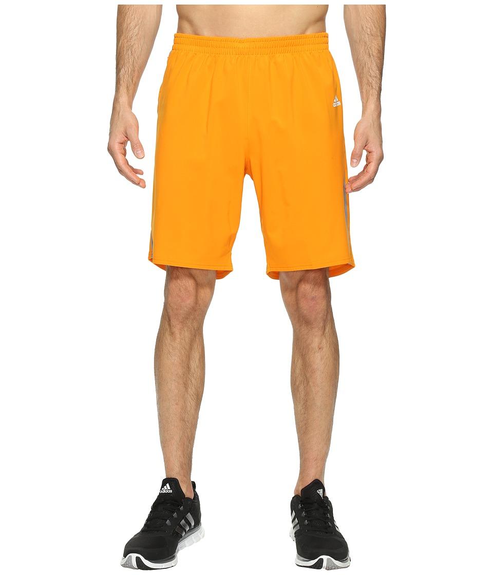 adidas - Response 9 Shorts (Bright Orange) Men's Shorts