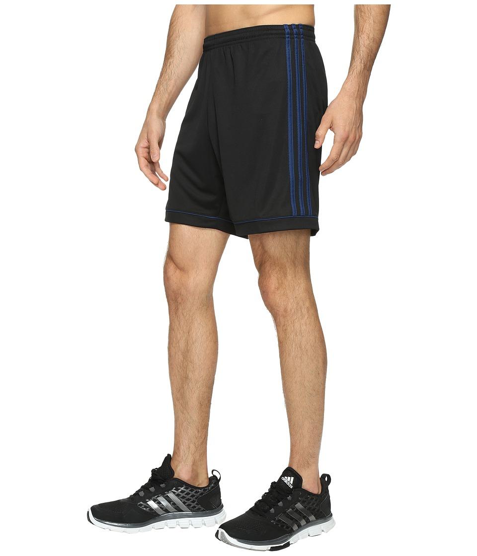adidas - Squadra 17 Shorts (Black/Mystery Blue S17) Men's Shorts