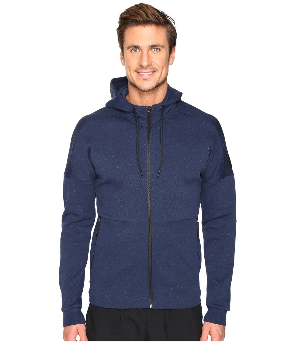 adidas - ID Stadium Full Zip Hoodie (Collegiate Navy) Men's Sweatshirt