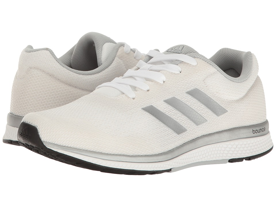 adidas - Mana Bounce 2 - Aramis (Footwear White/Silver Metallic/Core Black) Women's Running Shoes