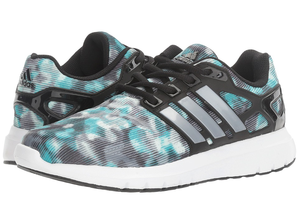 adidas Running - Energy Cloud V (Core Black/Silver Metallic/Easy Mint) Women's Running Shoes