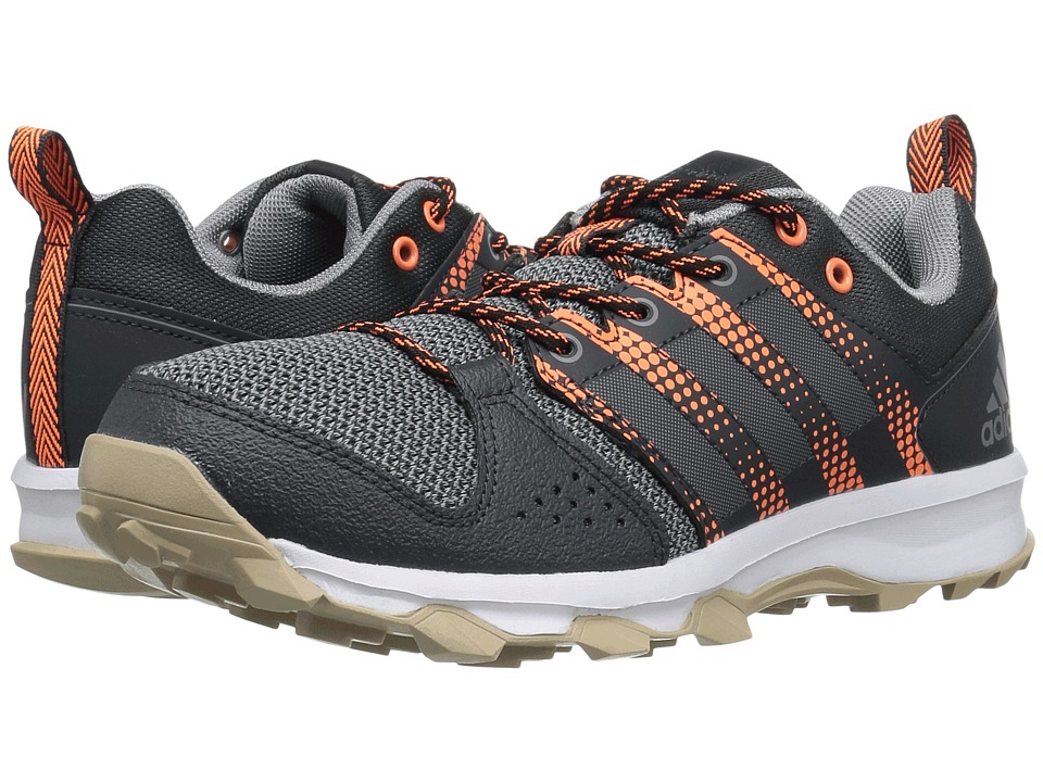 adidas - Galaxy Trail (Dark Grey/Grey/Glow Orange) Women's Running Shoes