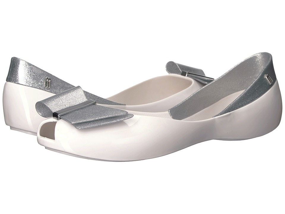 Melissa Shoes - Queen II (Grey/Silver) Women's Shoes