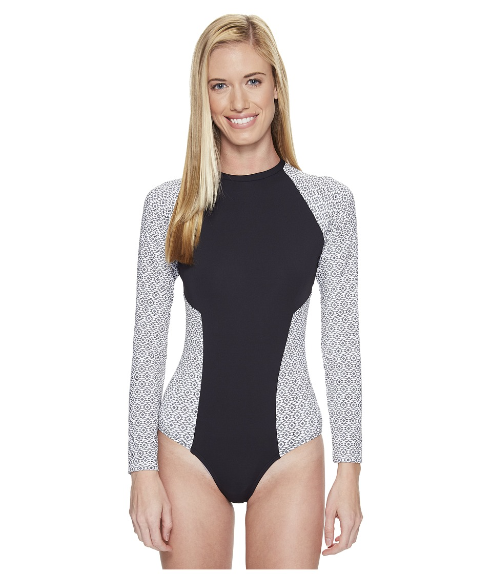 Carve Designs - Madeline One-Piece (Black Sierra) Women's Swimsuits One Piece