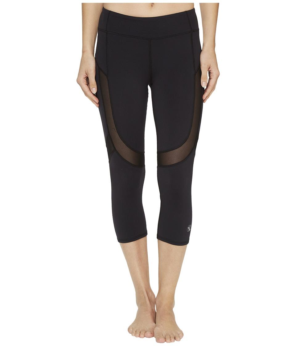 Carve Designs Zephyr Capris (Black) Women's Casual Pants