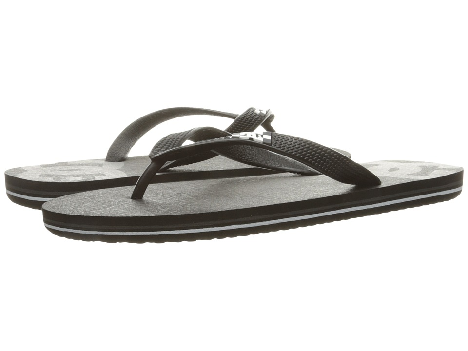 DC - Spray (Black/Grey) Men's Skate Shoes