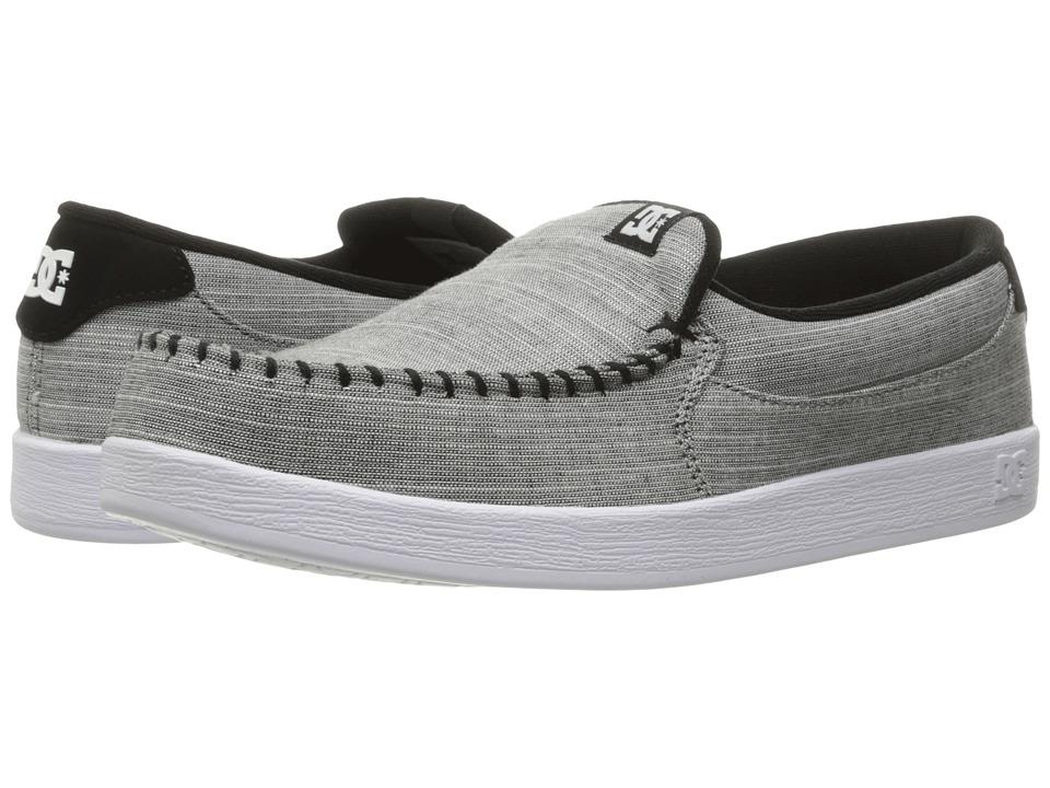 DC - Villain TX (Grey Light Used) Men's Skate Shoes
