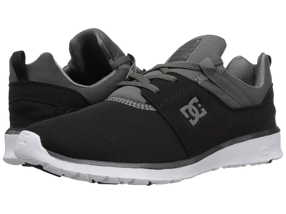 DC - Heathrow (Black/Dark Grey) Skate Shoes