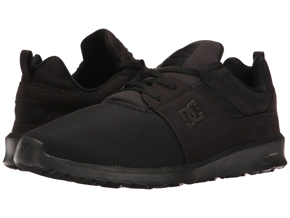 DC - Heathrow (Black/Black/Black) Skate Shoes