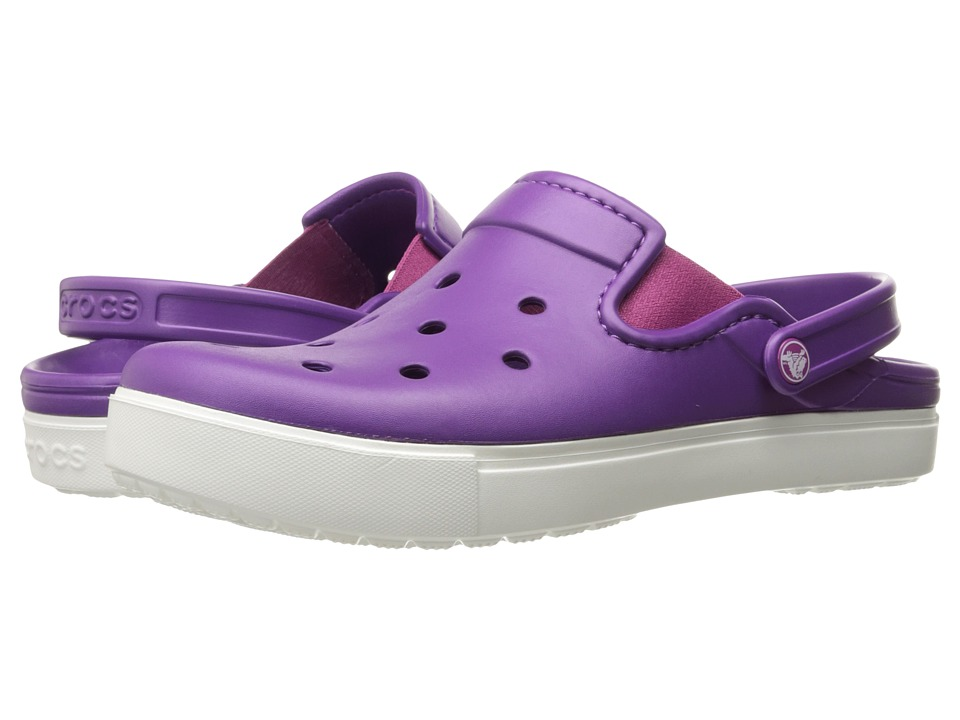 Crocs CitiLane Clog (Amethyst/White) Clog Shoes