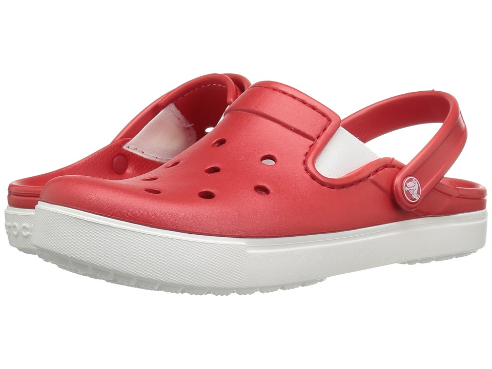 Crocs - CitiLane Clog (Flame/White) Clog Shoes
