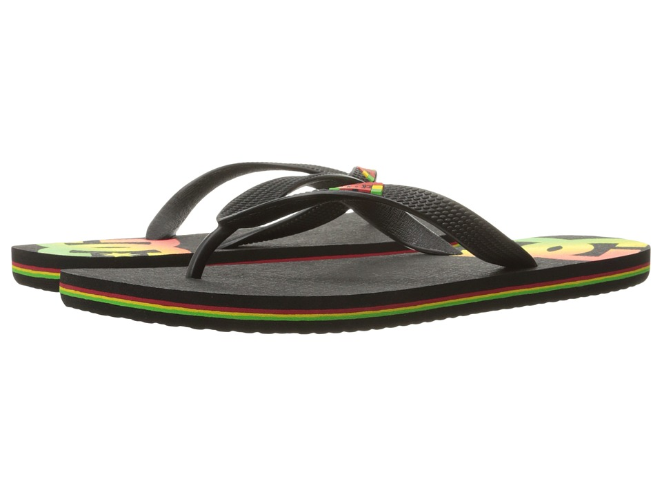 DC - Spray (Rasta 1) Men's Skate Shoes